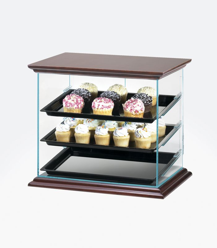 bin rw trays case cases countertop countertops p with w zoom bakery curved pastry frame acrylic display metal doors loading and rear