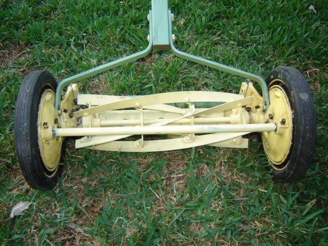 """This was the original definition of a """"push"""" mower!"""