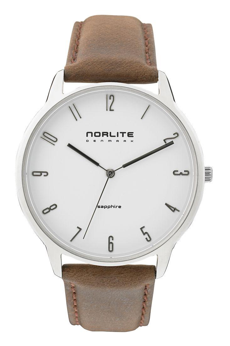Norlite watch - White