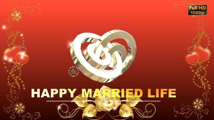 Happy Wedding Wishes, SMS, Greetings, Images, Wallpaper, Whatsapp Video,...