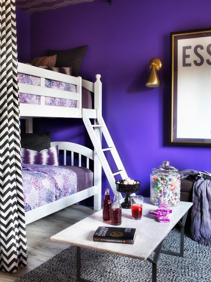 die besten 25 lila zimmer ideen auf pinterest lila m dchenzimmer wohnungseinrichtung lila. Black Bedroom Furniture Sets. Home Design Ideas