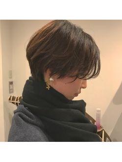 ヘアーサロン ビコ 札幌駅前店(hair salon bico) 「 サロンスタイル 」コート着てマフラーしても美しいショート☆
