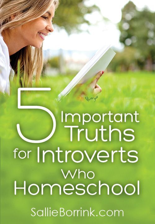 Homeschooling as an introvert has both its benefits and its potential pitfalls. Here are 5 important truths for introverts who homeschool!
