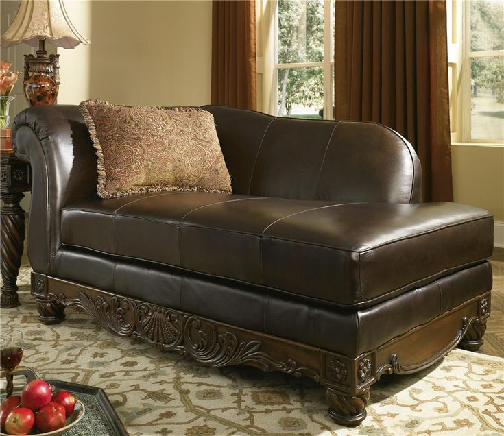 North Shore   Dark Brown Leather Corner Chaise By Millennium. Living Room  SectionalLiving Room ChairsBrown ... Part 72