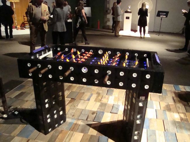 VHS Tape Foosball Table -Craziest Gadgets