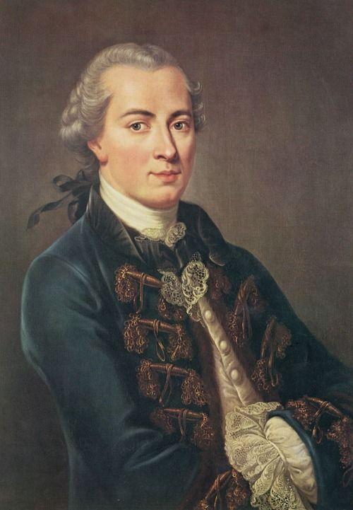German philosopher, Immanuel Kant, 22 April 1724 – 12 February 1804