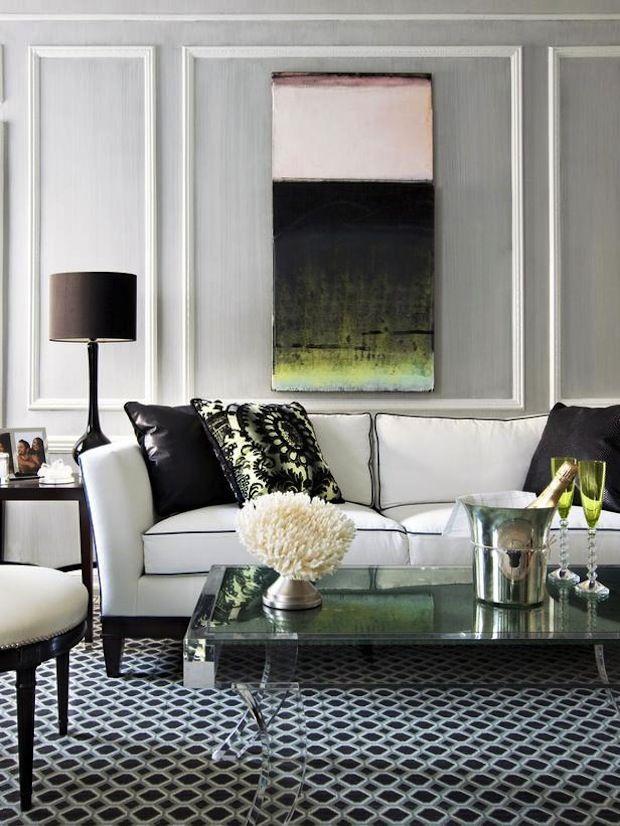 Grey Interiors In Tvoy Designer Blog
