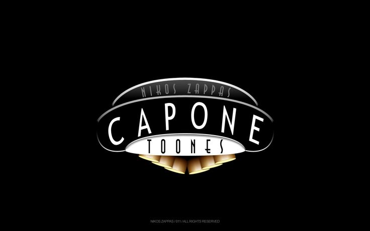 Capone Toons Designed by Nikos Zappas ®