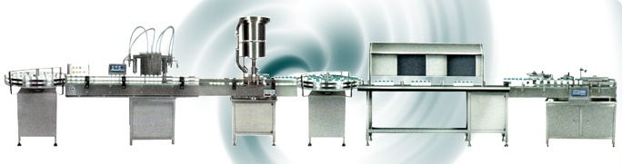 Automatic Twin Head Liquid Filling with Capping Inspection And Labelling Machines for Bottled Water, Light Sauces, Heavy Sauces, Beverages, Shampoo, Cosmetic Creams, Liquid Shop, Edible Oils, Bio Medical Applications, Chemicals, Alcohols, Essential oils, Lotions, Pharmaceutical applications, Syrups, Specialty Chemicals, Hazardous Solvents, Explosive Solvents and Corrosive Products.