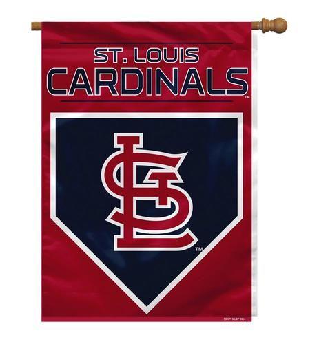 Saint Louis Cardinals St. Large Banner Flag