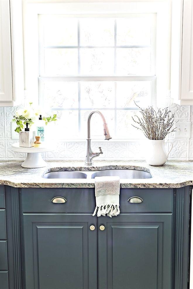 green kitchen cabinet update country kitchen pinterest kitchen rh pinterest com