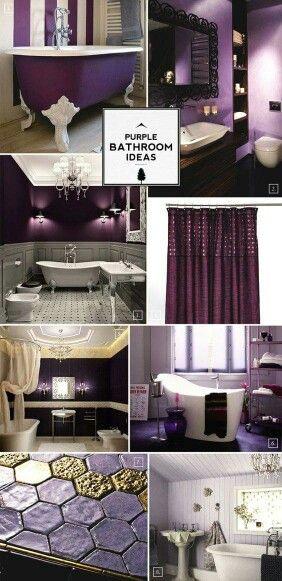 Best 25 purple bathroom decorations ideas on pinterest for Dark purple bathroom ideas