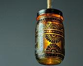 Beautiful glass lanterns