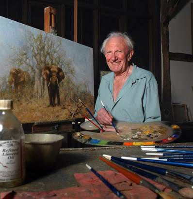 David Shepherd's top 10 wildlife tips - How To - Artists & Illustrators - Original art for sale direct from the artist