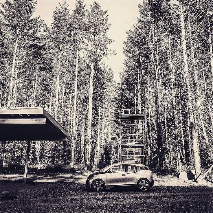 Into the wild, with the all-electric gamekeeper #BMWi3.  #BMWirepost via #bornelectric @maxon_house. #BMWi  __________  The driving range depends on a variety of factors, especially: personal driving behaviour, selected route, weather conditions, usage of heating/cooling and preconditioning.  BMW i3 (60 Ah) with Range Extender: energy consumption (combined): 13,5 kWh/100 km, CO2 emissions (combined) 13 g/km.  Further information about the official energy and fuel consumption and the official…