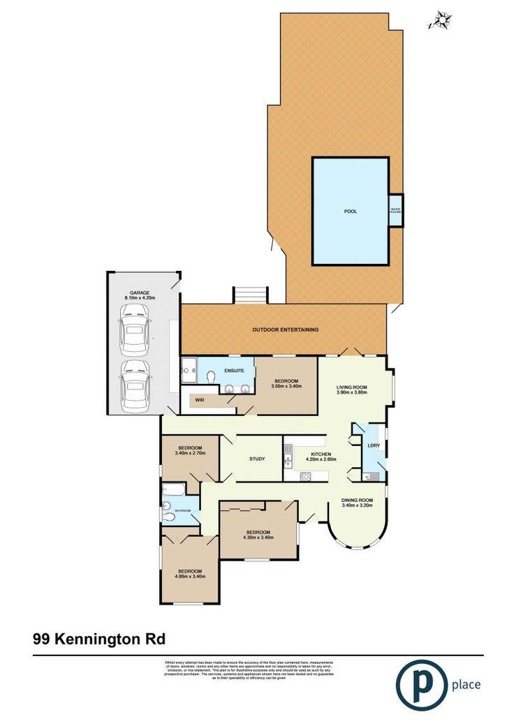 99 Kennington Road, Camp Hill, Qld 4152 - floorplan