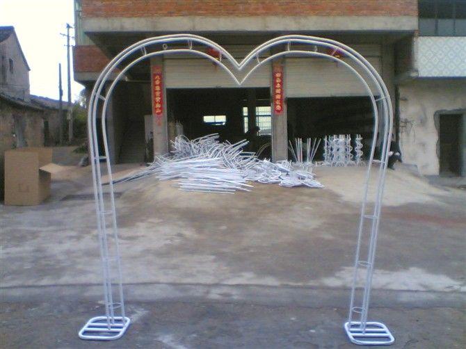 Счастливый свадебный цветок дверные дверные арки, кованые форме сердца цветок дверные полки стойки свадебные реквизит поставляет оптом - Тао ...