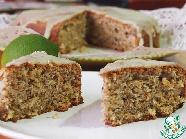 Ореховый пирог с лаймом и кокосом ингредиенты
