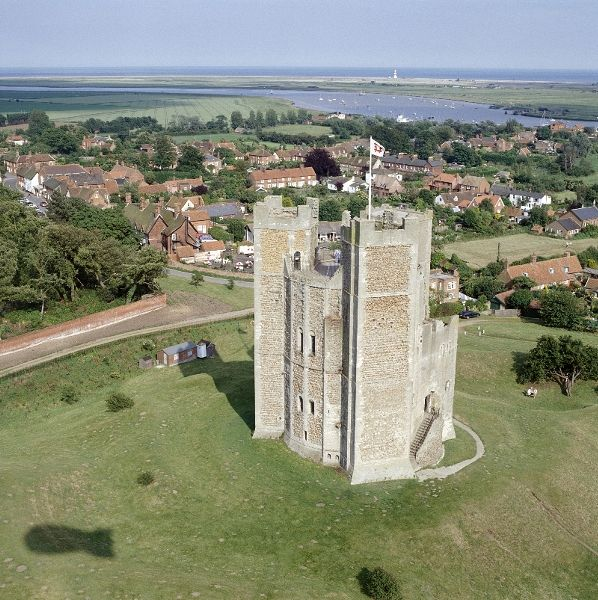 Orford Castle | English Heritage Next to our house.