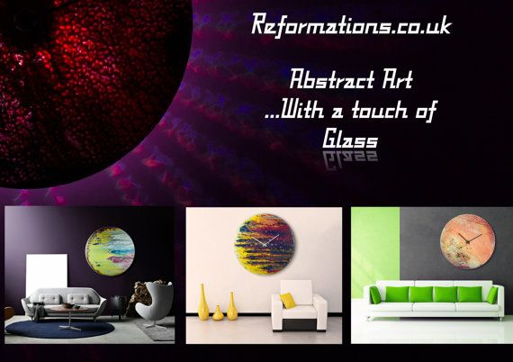 Abstract wall artModern Glass clockUnique wall hangingHome decorTrending ItemsOriginal artUnique wall DecorUnique Wall Art Etsy by ReformationsUK from Reformations.co.uk by Craig Anthony. Find it now at http://ift.tt/29sZG8S!