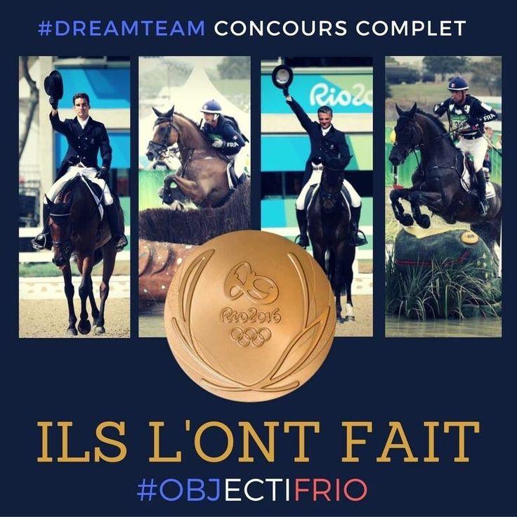 Equitation : la France décroche la médaille d'or au concours complet par équipes !