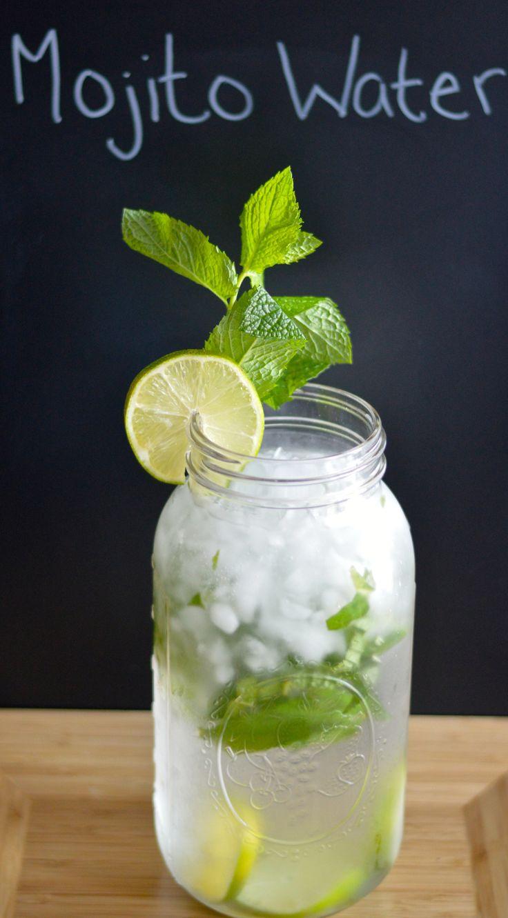 Mojito infused water!!! Yum