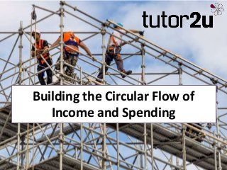 Building the Circular Flow of Income & Spending