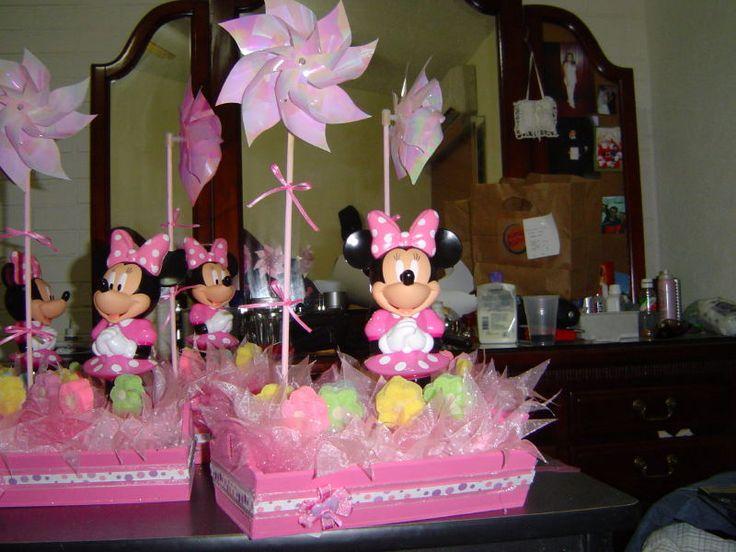 Minnie mouse ideas de manualidades facilisimo 1000 - Manualidades centros de mesa ...
