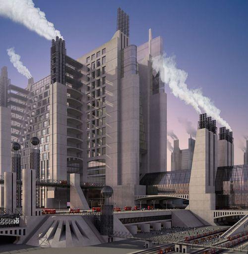 futurism architecture   futurist architecture