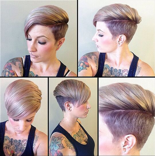 Shaved-Hairstyles-for-Short-Hair-Short-Haircut-with-Bangs