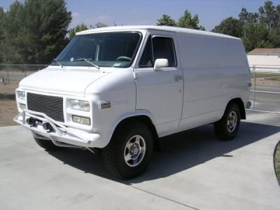 Custom GMC Vans | 1977 Chevrolet Custom Van Conversion