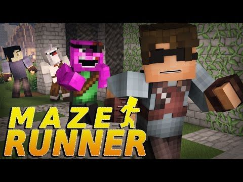 "Minecraft MAZE RUNNER! - ""I'M GONNA BE A RUNNER!"" #3 (Minecraft Roleplay) - YouTube"