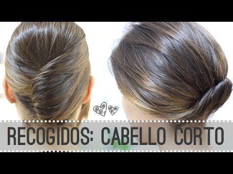 Recogidos para pelo corto, ¡los peinados más sencillos! - http://www.bezzia.com/recogidos-para-pelo-corto-los-peinados-mas-sencillos/
