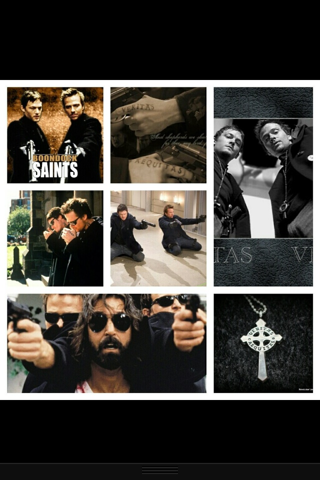 Boondock Saints...seen this movie a hundred times and could watch it a hundred more :-)