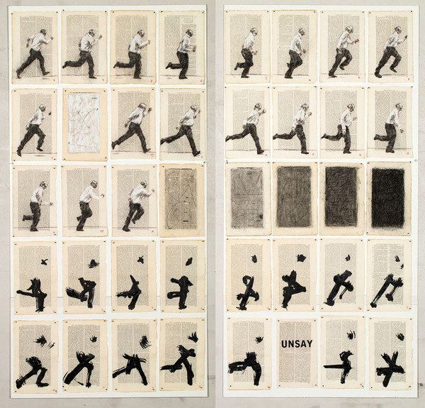 William Kentridge  Galleria Lia Rumma, Napoli