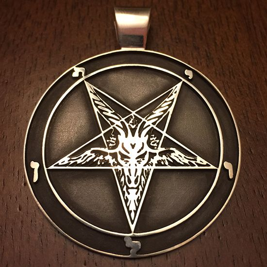 Wirth/Merciless Sigil of Baphomet Sterling Silver Pendant – iSatanist