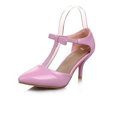 Dew Stiletto - Lackleder - FRAUEN Spitze Zehe - Pumps / High Heels ( Schwarz/Rosa/Weiß/Beige ) - http://on-line-kaufen.de/dew-hohe-fersen/dew-stiletto-lackleder-frauen-spitze-zehe-pumps