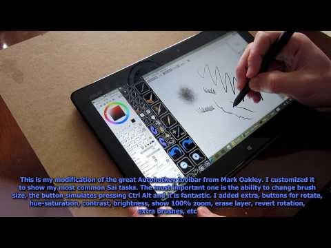 Asus Vivotab Tf810c Tablet - drawing & painting review & some gaming - YouTube