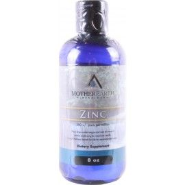 Mother Earth Minerals; Liquid Zinc.In one study, women who were given proper zinc supplements showed an increase of 20% in mental capacity over a 6 week period. Zinc has been medically proven to shrink enlarged prostate glands, helping to prevent prostate cancer. Zinc is essential in maintaining a healthy male respoductive system. It has been shown to be effective in promoting proper brain function and hormone production, which results in greater libido.