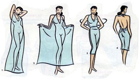 DIY comment s'habiller en paréo