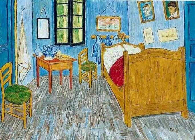 La Habitaci 243 N Vincent Van Gogh Www Laminaposter Com Van Gogh Vincent Van Gogh