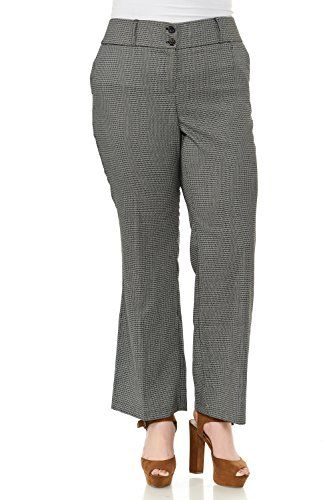 New Trending Pants: Clinamen Clothing Women Plus Size 2Button Closure Jaquard Pattern Work Slacks Pants(IMPB0728) (XXLarge, Grey). Clinamen Clothing Women Plus Size 2Button Closure Jaquard Pattern Work Slacks Pants(IMPB0728) (XXLarge, Grey)  Special Offer: $19.99  100 Reviews PLUS SIZE JAQUARD PATTERN WORK SLACKS2 BUTTON CLOSURE WITH ZIPPER75% POLYESTER, 23% RAYON, 2% SPANDEXShip from los angeles