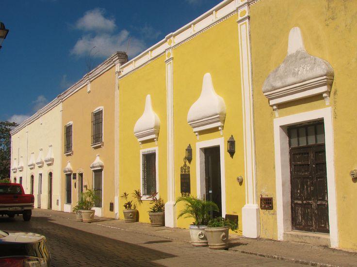 Vallodid, Yucatan: location of San Bernardino of Siena Franciscan monastery