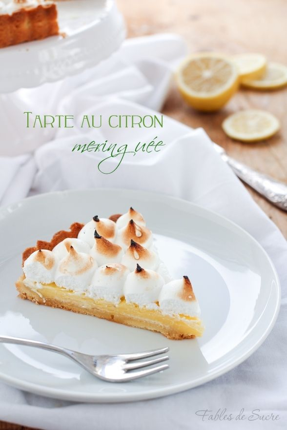 Tarte au citron meringuée | Fables de Sucre
