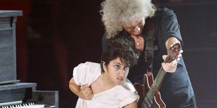 Lady Gaga, ¿la vocalista de Queen?
