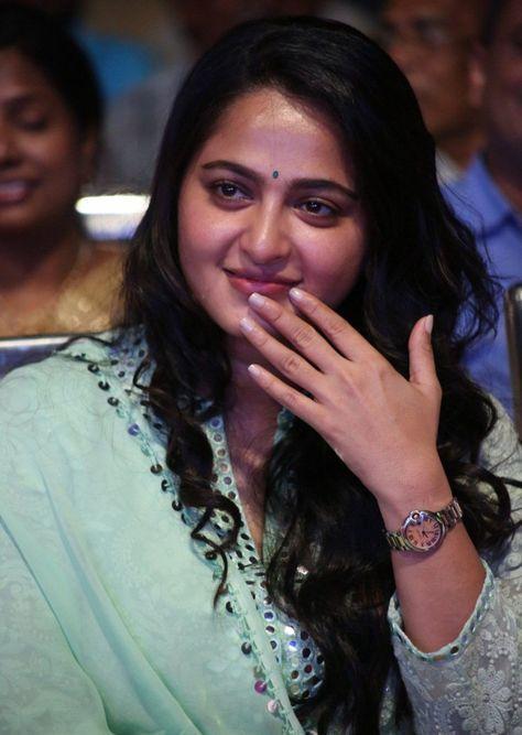 Anushka Shetty At Movie Audio Launch In Green Dress