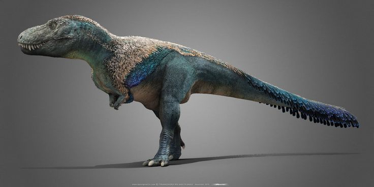 Tyrannosaurus male by Damir G. Martin