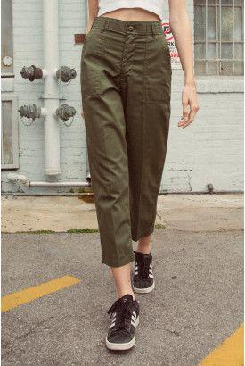 32b2c78310 Kim Military Pants | Brandy Melville USA | Military pants, Brandy melville  pants, Pants