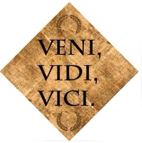 #Vine #Vi y #Vencí #JulioCésar #quote #exito #destreza #primerapersona #preteritoperfectosimple