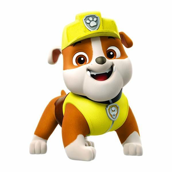 Buy Paw Patrol Rubble Temporary Tattoo For Usd 2 45 7 25 Rubble Paw Patrol Paw Patrol Characters Paw Patrol Cake Toppers